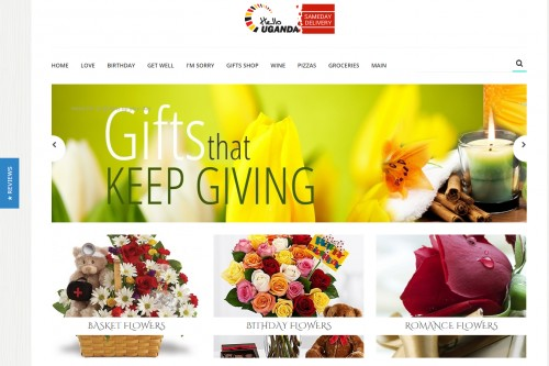 ecommerce site for flower delivery