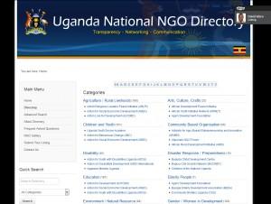 Uganda national ngo directory