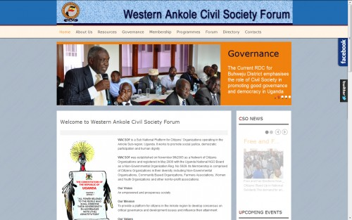 Western Ankole Civil Society Forum – WACSOF